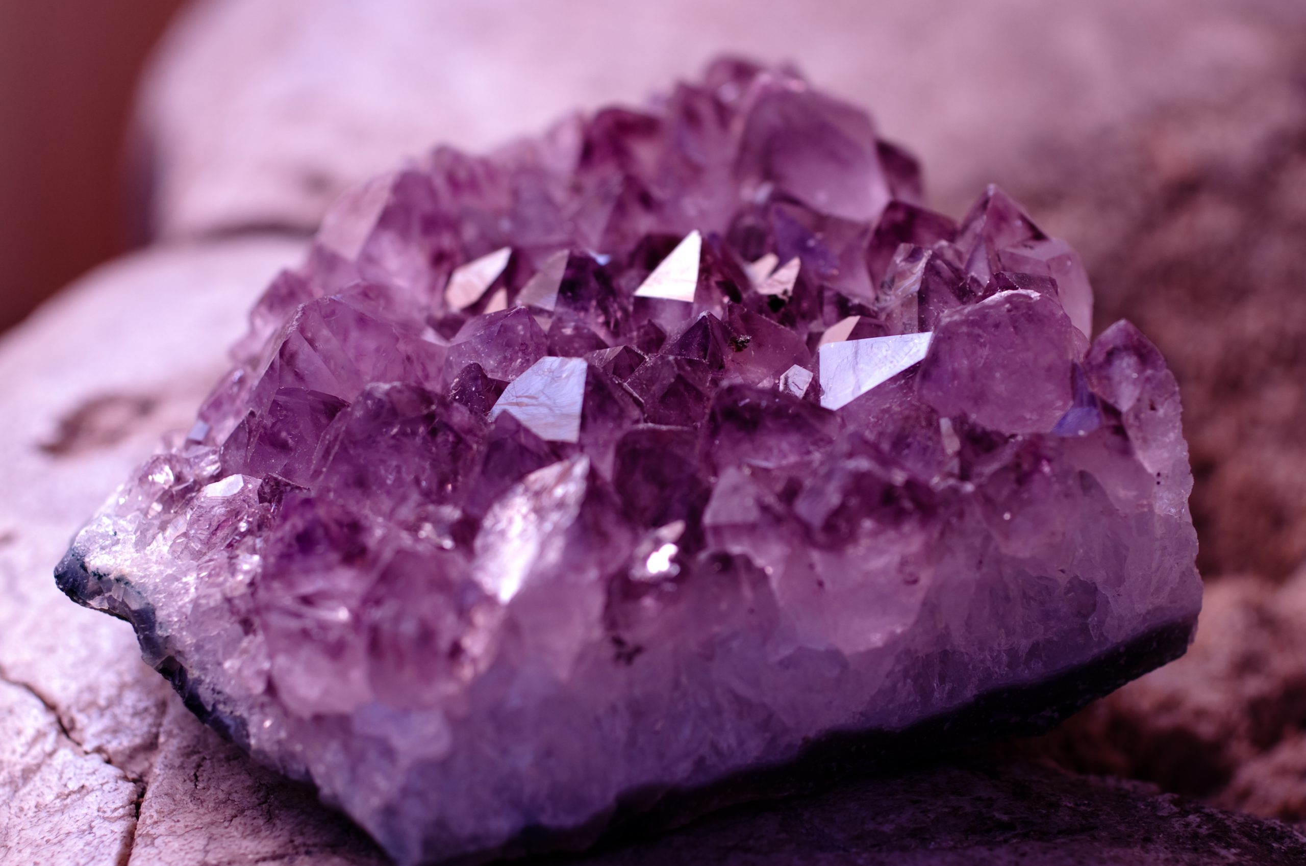 amethyst third eye chakra crystal