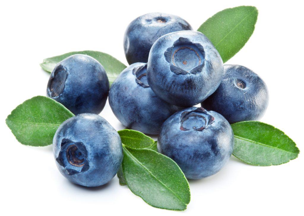 blueberries third eye food