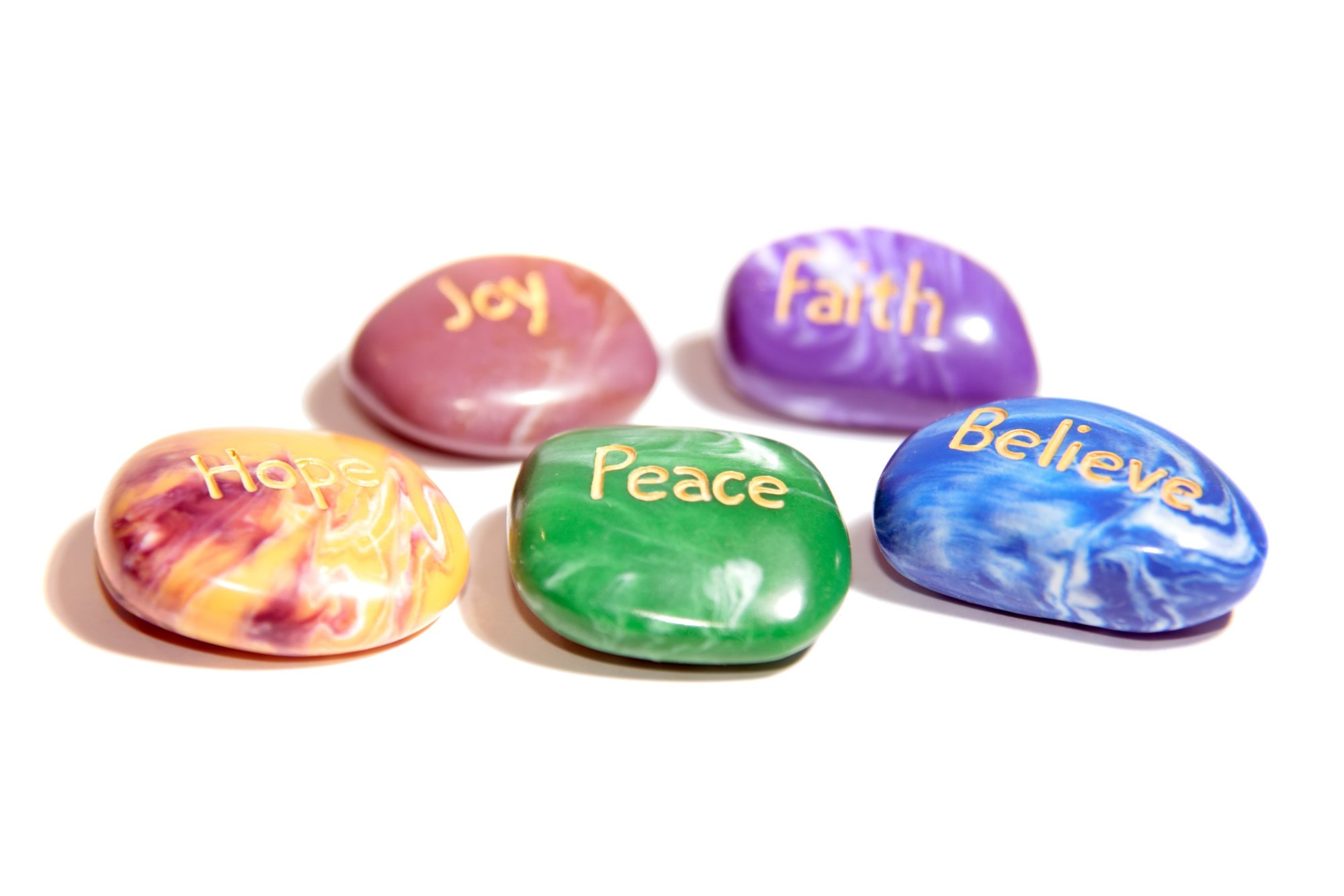 chakra affirmations root stones