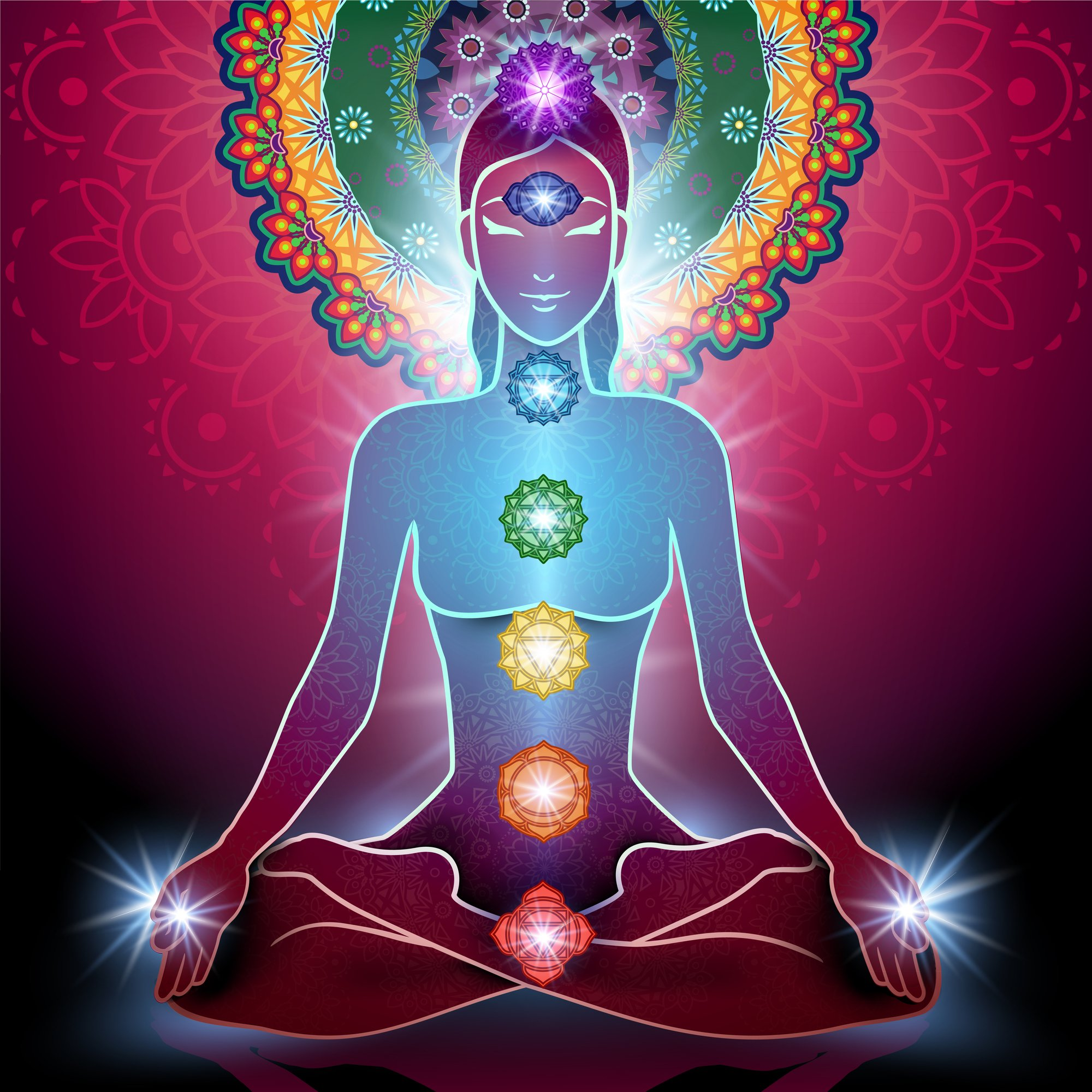 kundalini awakening illustration