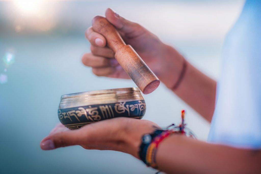 healing tibetan bowl