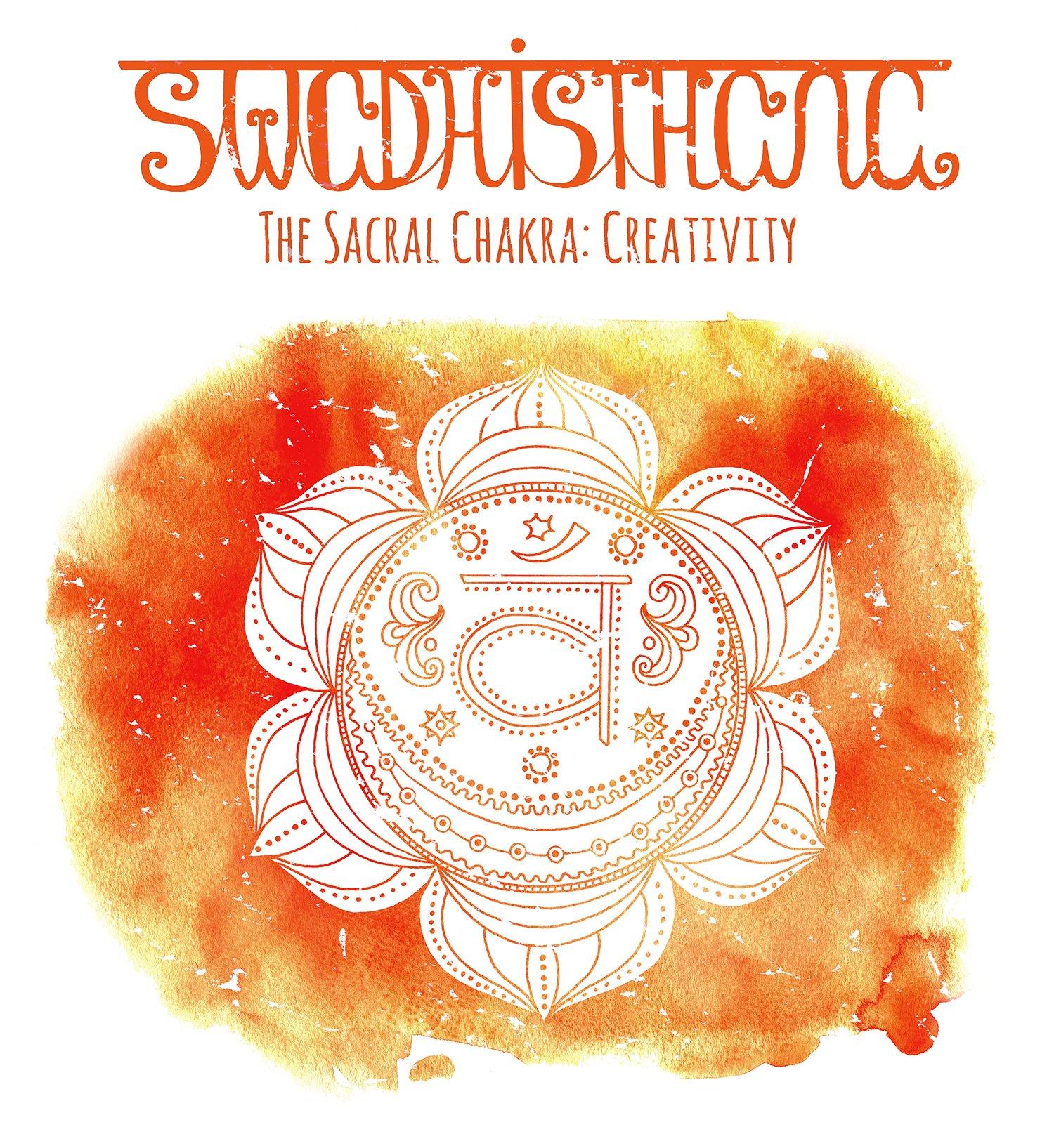 Symbol of sacral chakra.