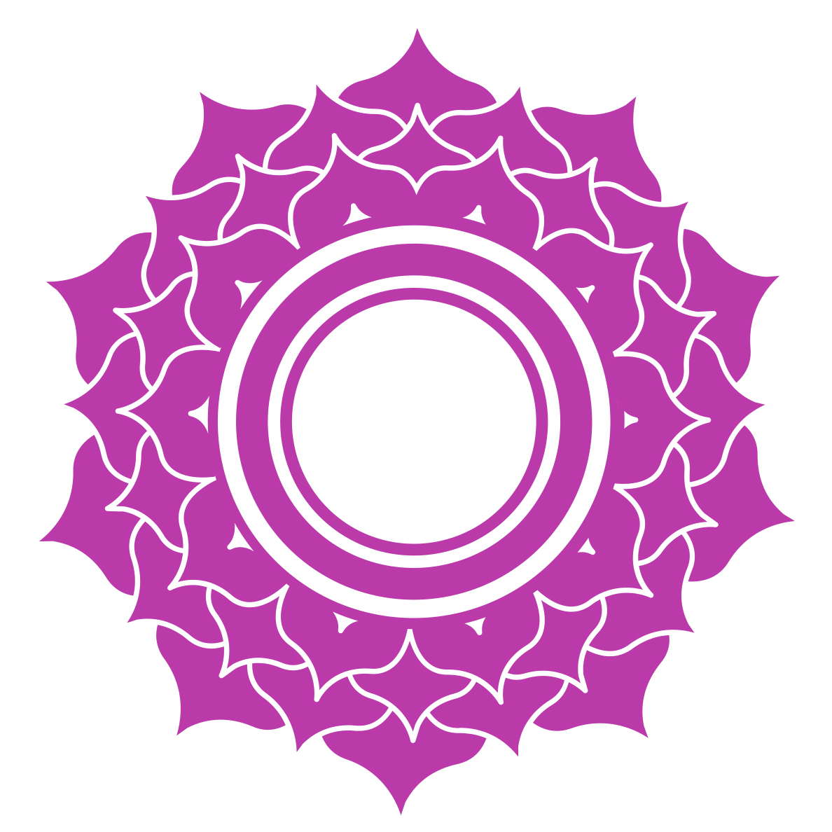 crown chakra symbol - all about chakras
