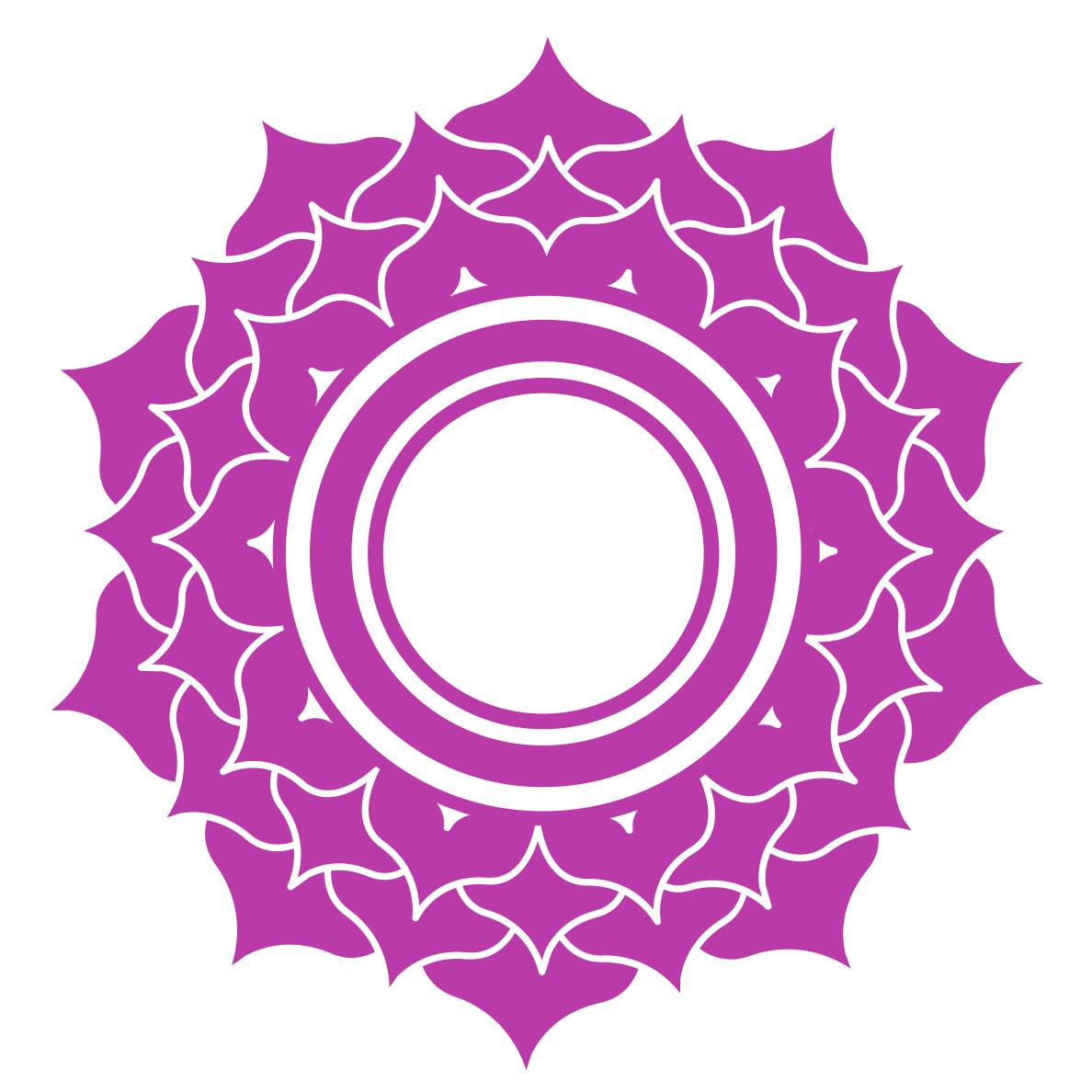 crown chakra symbol - all about chakras
