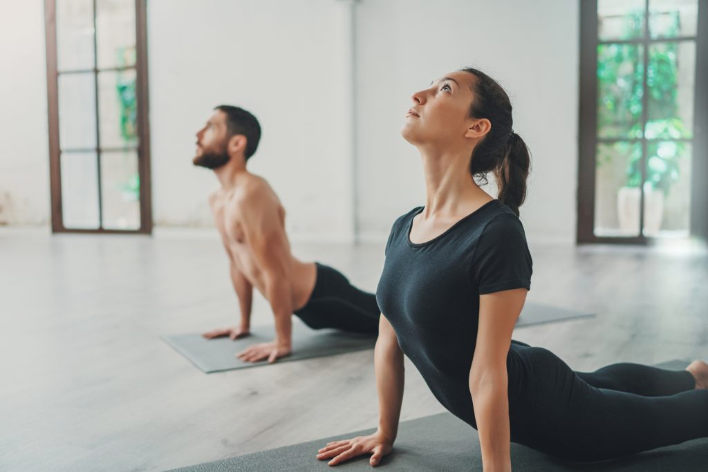yoga cobra pose root chakra