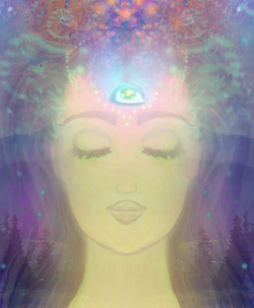 bliss of the third eye