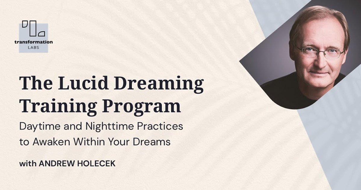 Lucid Dreaming - Andrew Holocek fb twitter