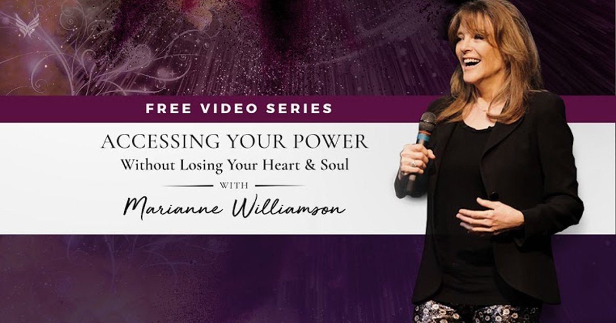 marianne williamson - powerful beyond measure online course 2 THUMBNAIL