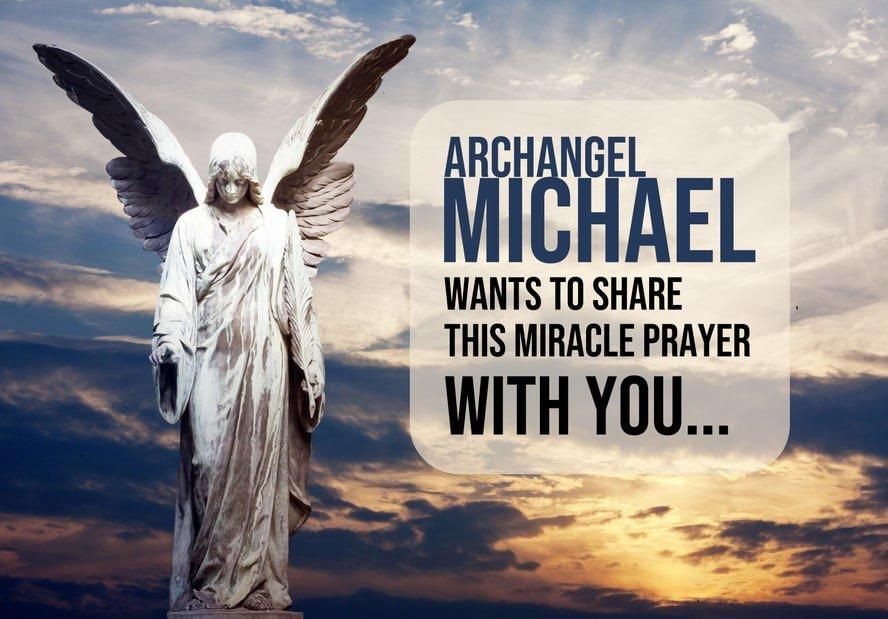 archangel michael miracle prayer