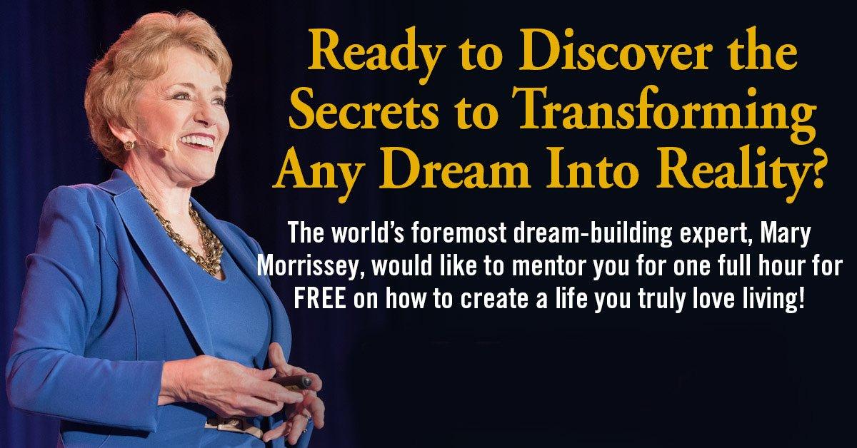 mary morrissey dreambuilder free webinar