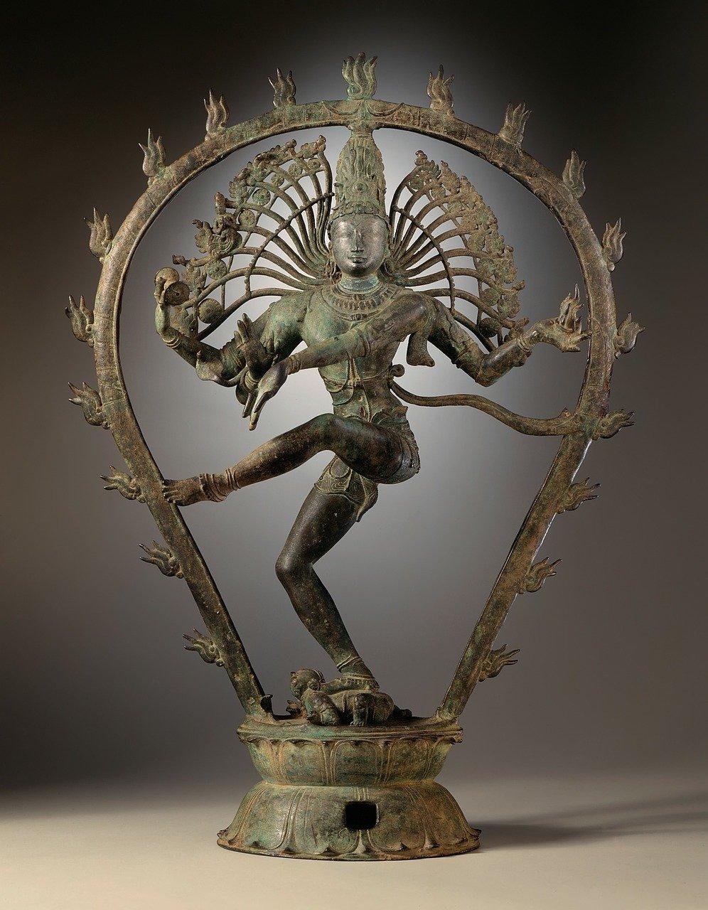 shiva god statue dance of destruction