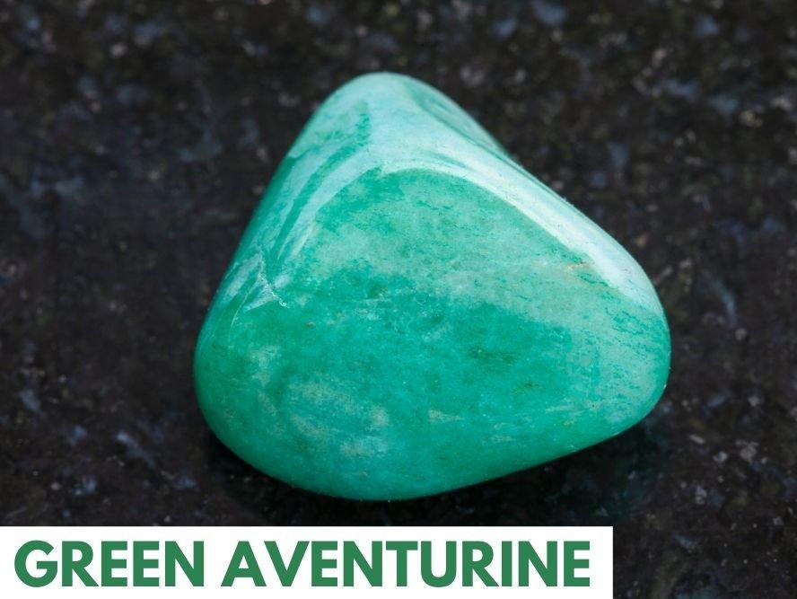 heart chakra crystal green aventurine