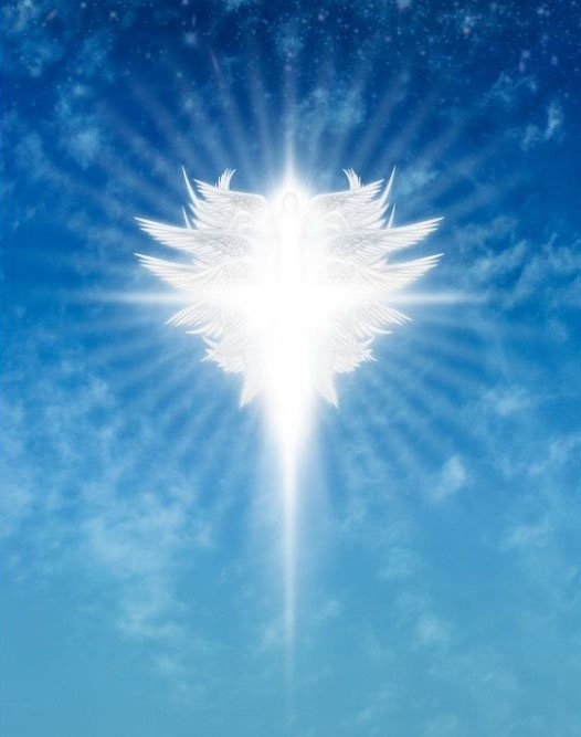Seeing the Holy Spirit is a sign of Archangel Michael.