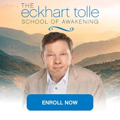eckhart tolle school of awakening