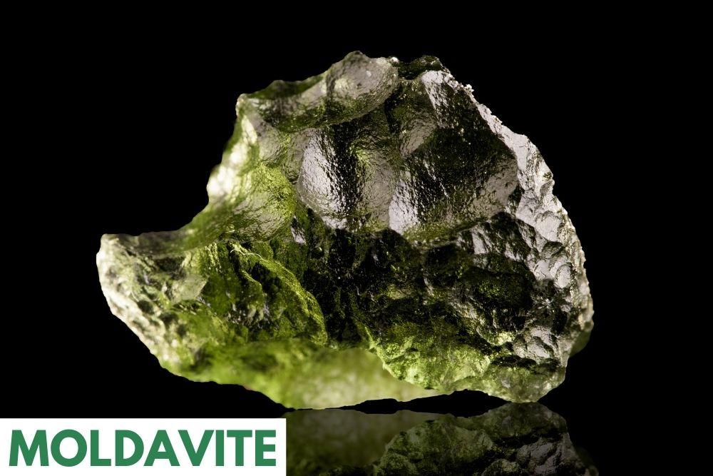 heart chakra crystal healer Moldavite