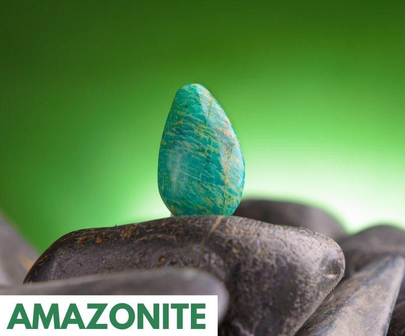 heart chakra crystal amazonite for healing the heart chakra