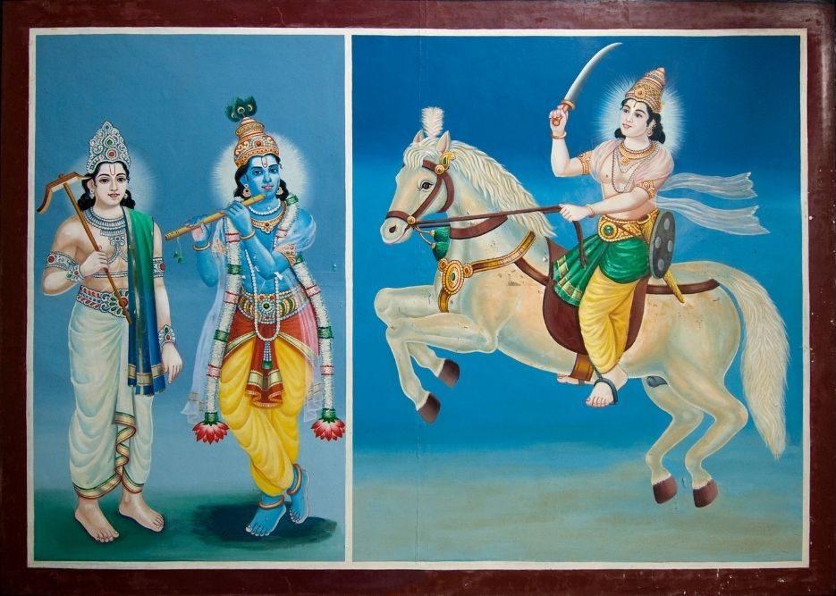krishna in bhagavad ghita
