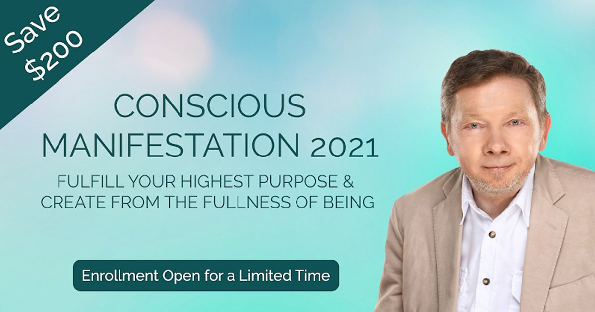 eckhart tolle conscious manifestation spirit miracle thumb