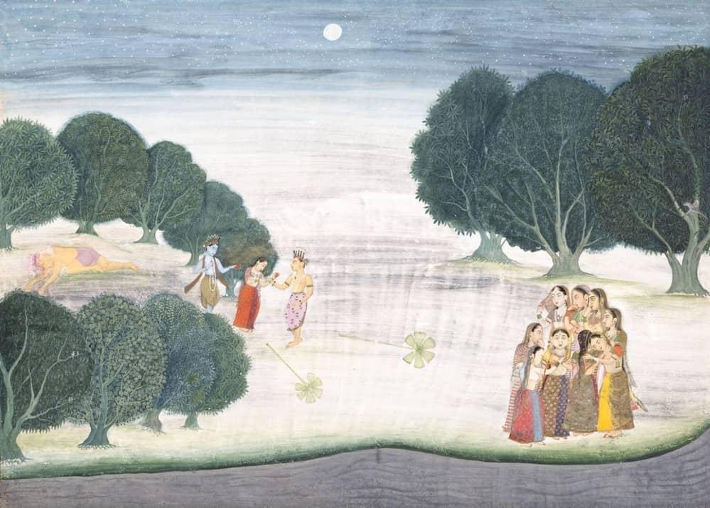 vishnu defeats shankachura